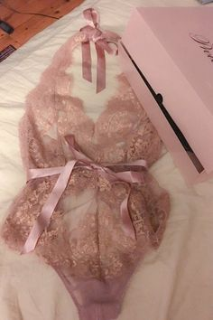 champagne bows lingerie antique rose gold lace teddy.