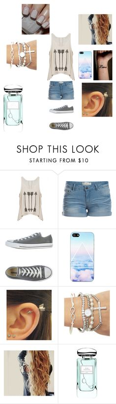 """Untitled #78"" by xxstay-weirdxx ❤ liked on Polyvore featuring Pieces, Converse, NOVA, Wet Seal, By Terry and Sephora Collection"