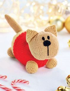 Crochet Stuffed Toys Free Toy Knitting Pattern for Lenny the Cat - Free Toy Knit. Crochet Stuffed Toys Free Toy Knitting Pattern for Lenny the Cat – Free Toy Knitting Pattern for Knitted Cat, Knitted Animals, Knitted Gifts, Knitted Dolls, Cute Crochet, Crochet Toys, Knit Crochet, Free Knitting, Baby Knitting