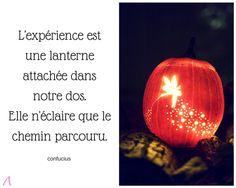 domazen.blog citation Halloween et expérience - Confucius