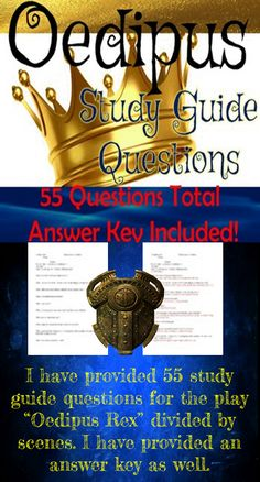 Oedipus the King Study Questions Answers Flashcards | Quizlet