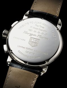 TAG Heuer Targa Florio- tribute to Juan Manuel Fangio