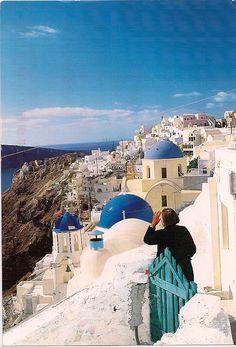 Skiathos Greece from postcard from my friend Vesna
