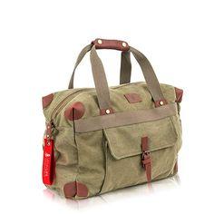 Gute Tasche mit viel Platz Koffer, Rucksäcke & Taschen, Reisegepäck, Reisetaschen Weekender, Canvas, Duffle Bags, Viajes, Leather, Tela, Canvases