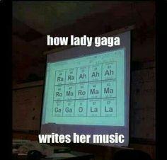 Jajajaja:-) , lo que un artista hace en clase de quimica:-) :-) :-) :-)