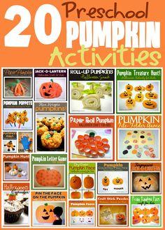 Little Family Fun: Pumpkin Activities for Kids