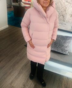 What We're Wearing. Pink ADD parka, available at Milli. #add #milli