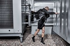 Filip_Roth_Absence_campaign #fashion #future #minimalism #blvck #filiproth #motion #jump #backpack