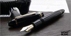 MONTBLANC 万年筆 モンブラン 万年筆 筆記具 マイスターシュテュック149 ブラック