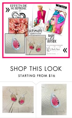 """J. Birdsperch"" by selmica11 ❤ liked on Polyvore featuring beauty, jbirdsperch and realbutterflywingjewelry"