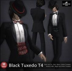 ::: B@R ::: Black Tuxedo T4 190L$  Bare@Rose Tokyo:B@R 新作3点同時リリース(メッシュ対応)