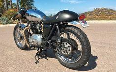 1976 Triumph Bonneville Cafe Racer 750cc Found on Ebay US #motorcycles #caferacer #motos | caferacerpasion.com