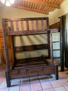 Custom bunk beds built for adults, vacation homes, guest rooms.
