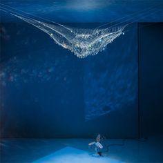 Lacrime del Pescatore Ceiling Light Wicked!!!!!