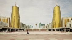 Do you think this post-Soviet architecture in Kazakhstan looks like towers of beer? #design #architecture