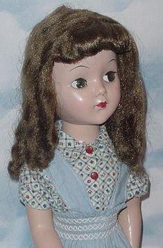 ~ Lovey Hard Plastic Doll ~ (1950's)