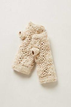 Hand-Crocheted Fingerless Gloves