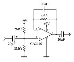 tda2050 bridge amplifier circuit