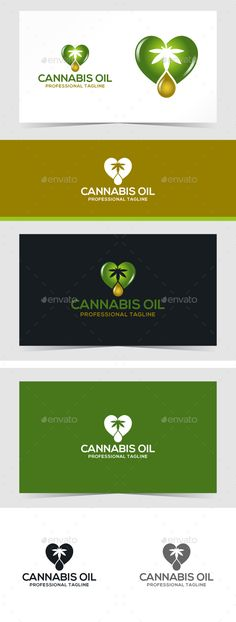 Cannabis Oil — Photoshop PSD #Pure Life #green • Available here → https://graphicriver.net/item/cannabis-oil/19223336?ref=pxcr