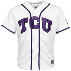 When T-Man was in the 2nd grade he decided he wanted to go to TCU to play baseball.  5 months later he is still set on the idea and we ordered him a TCU baseball shirt to wear for College Color Day.  This jersey is now on his Christmas wish list.