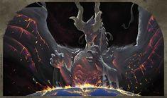 ArtStation - From the Womb of the World, Sean Kyle Manaloto Big Dragon, Dragon Art, Magical Creatures, Fantasy Creatures, Dark Fantasy, Fantasy Art, Mobius Final Fantasy, Anime Shadow, Shadow Wolf