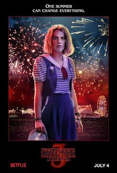 Netflix has released 14 Stranger Things Season 3 character posters ahead of the season premiere. The series returns to Netflix on July Stranger Things Netflix, Poster Stranger Things, Stranger Things Characters, Stranger Things Steve, Stranger Things Aesthetic, Stranger Things Season 3, 3 Characters, Stranger Things Funny, Stranger Things Costumes