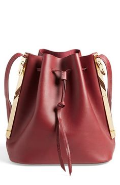 Sophie Hulme Leather Bucket Bag available at #Nordstrom