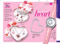 #Avon introduces the Interchangeable Heart Collection. Perfect for #Valentine'sDay. Mix or match these 4 piece gift sets.  www.youravon.com/annabeatrice