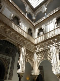 Spain, Alcázar of Seville - so amazing!