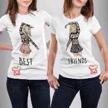 It's awesome this t-shirt for your best friend !!