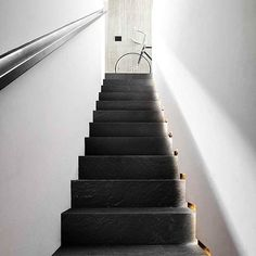 MARAZZI MYSTONE LAVAGNA Nero Stairs, Home Decor, Home, Stairway, Decoration Home, Room Decor, Staircases, Home Interior Design, Ladders