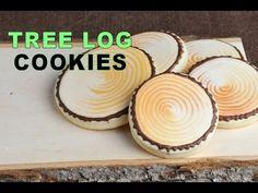 Wood Log Cookies  https://www.youtube.com/watch?v=w8ly4HPNoHQ
