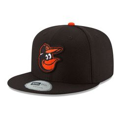 Youth New Era Black Baltimore Orioles Diamond Era 59FIFTY Fitted Hat