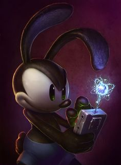 Oswald concept from Epic Mickey 2: The Power of Two