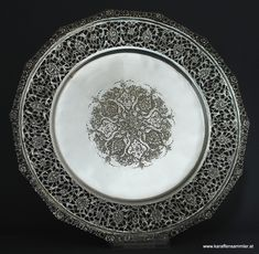 SILVER FROM THE EAST » Islamic Silver from the Middle East » Persian Silver Plate