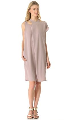 Tess Giberson Double Neck Tank Dress $395