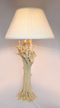 "Saatchi Art Artist Justyna Wolna; Sculpture, ""Tree lamp"" #art"