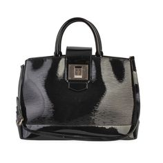 This beautiful Mirabeau GM tote in Epi Leather will add a touch of pure modern glamour. This stunning bag features glossy, shiny Electric Epi, which is a new addition to the Louis Vuitton family. Electric Epi is a new take on the classic Epi, which is patent Epi leather and provides any bag a luxurious allure. Louis Vuitton Dust Bag, Designer Bags, Shoulder Strap, Electric, Take That, Glamour, Touch, Pure Products, Tote Bag