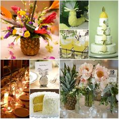 pineapple weeding decor - Yahoo Image Search results