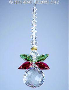 Made With Swarovski Crystal Suncatcher 20mm by LilliHeartDesigns, $19.99