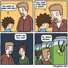 Where Do Babies Come From The Truth Comic
