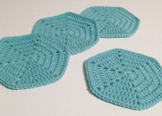 Crochet Coasters Custom Order for Donna by kylieB on Etsy, $15.00