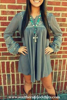 I LOVE this dress, got to have it! Southern Fried Chics