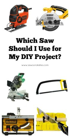 I needed this! Great post about how to identify saws, the types of cuts they…