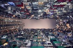 Vertical Perspective of Hong Kong's Immense Skyscrapers by Romain Jacquet-Lagreze - My Modern Metropolis