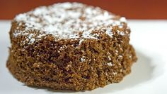 Acorn Flour Cake based on Italian Chestnut Cake (Castagnaccio).  Delicious! As the author says, it turns out like gingerbread, despite no added spices. Dark, moist, flavorful.