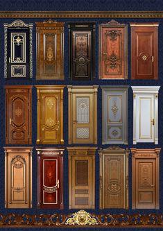 Элитные двери от производителя вацап 89128545030 House Gate Design, Bedroom Door Design, Main Entrance Door Design, Entrance Doors, Wooden Front Doors, Rustic Doors, Cabinet Door Designs, Interior Door Styles, Classic Doors