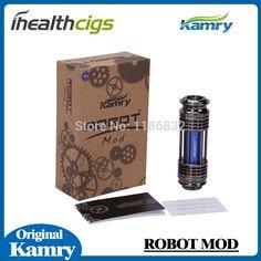 Original Kamry Robot mod suit for 18650 battery Kamry Electronic cigarette mod ROBOT V5 Mechanical Mod tube ihealthcigs specification:Productname:kamryrobot5Packing:Kraftpapercartoncolor:Red,Green,Blue,PurpleBatteryCapacity:2000mAhOutputVoltage:3.7  #Vaporizer http://vaper.ga/co