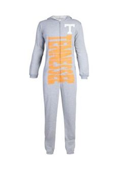 College Concepts Men's Tennessee Volunteers Unionsuit - Gray - Xlarge