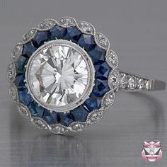 Art Deco Ring Setting